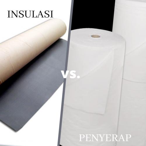 material insulasi vs. penyerap suara