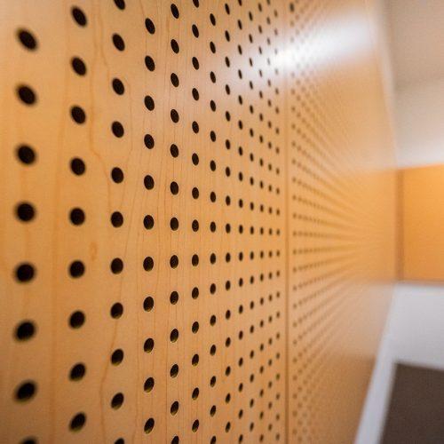 panel akustik perfowood